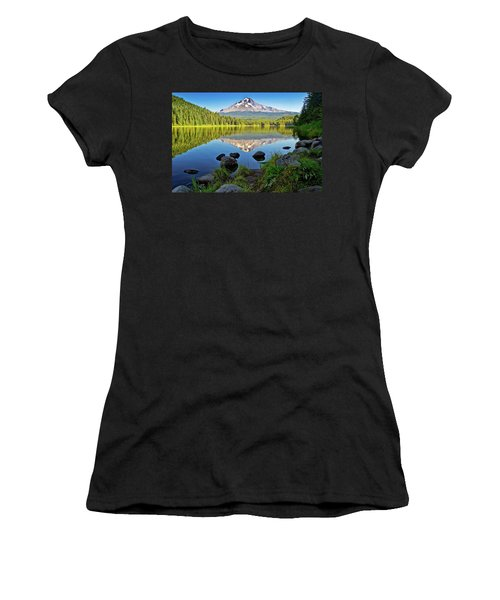 Above The Lake Women's T-Shirt
