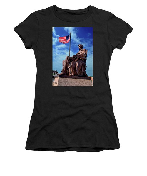 Abraham Lincoln Birthplace 002 Women's T-Shirt (Athletic Fit)