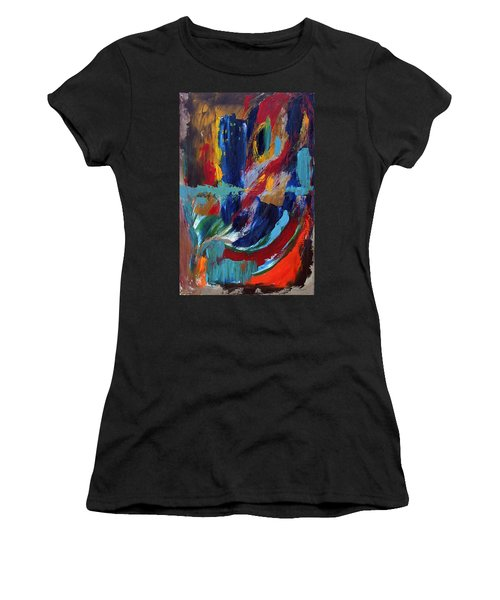 Abstract 1 Women's T-Shirt (Athletic Fit)