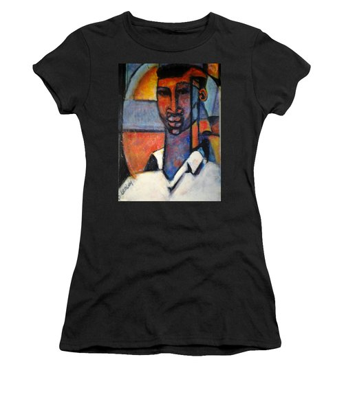 Abstract African Women's T-Shirt (Athletic Fit)
