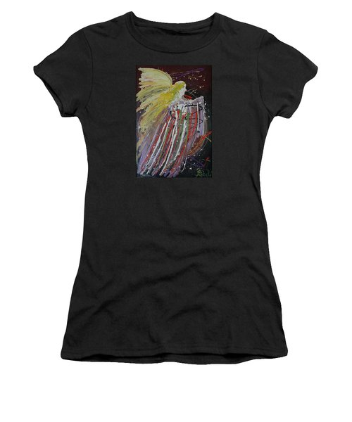 Abstract Angel Women's T-Shirt (Athletic Fit)