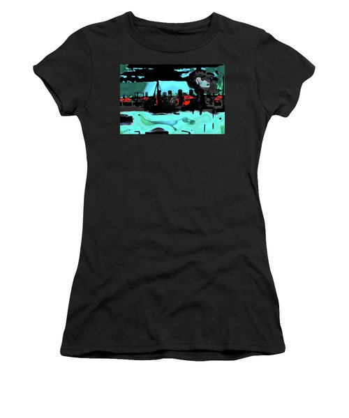 Abstract Bridge Of Lions Women's T-Shirt