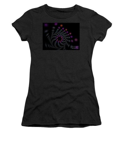 Abstract Carousel Women's T-Shirt