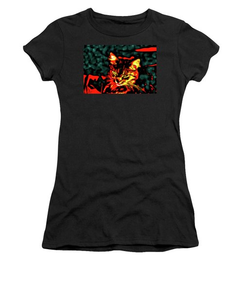 Abstract Cat Women's T-Shirt