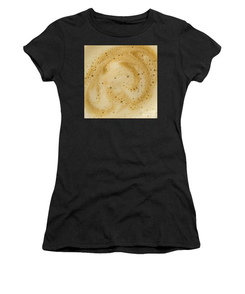 Abstract Coffee Women's T-Shirt (Athletic Fit)