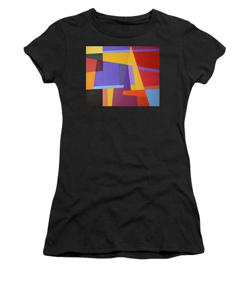 Abstract Composition 7 Women's T-Shirt (Athletic Fit)