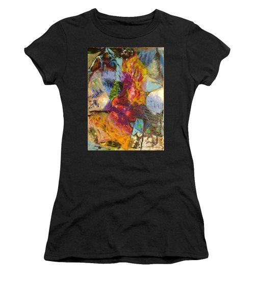 Abstract Depths Women's T-Shirt (Athletic Fit)