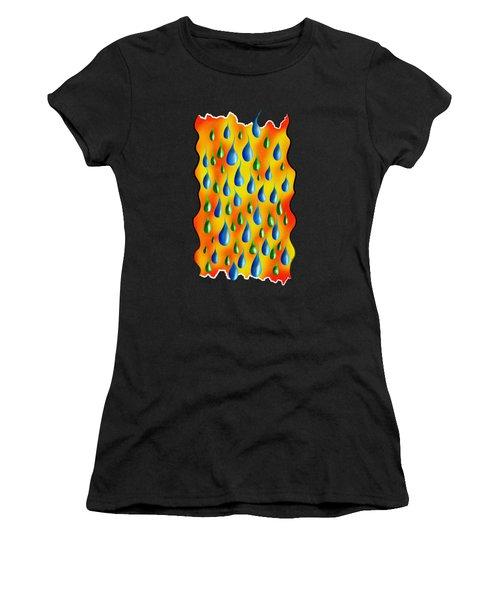 Greoforio V3 - Pure Rain Women's T-Shirt (Athletic Fit)