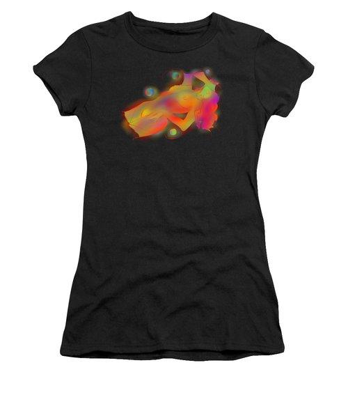 Abstract Digital Art - Limettina V1 Women's T-Shirt (Athletic Fit)