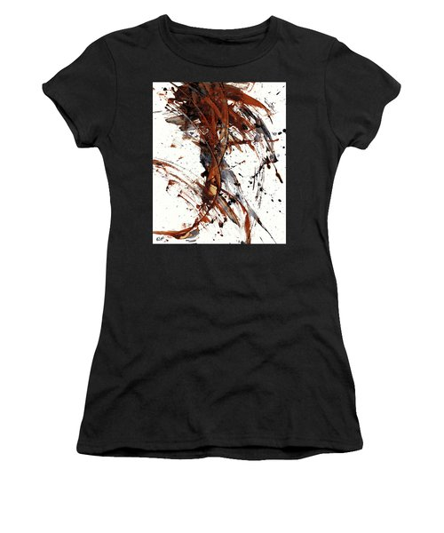 Abstract Expressionism Series 51.072110 Women's T-Shirt (Athletic Fit)