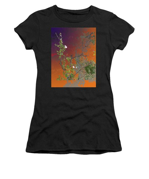Abstract Flowers Of Light Series #13 Women's T-Shirt
