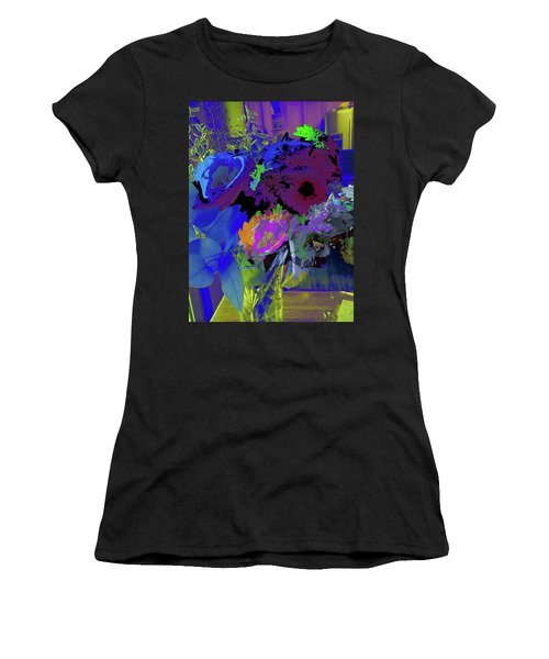Abstract Flowers Of Light Series #18 Women's T-Shirt