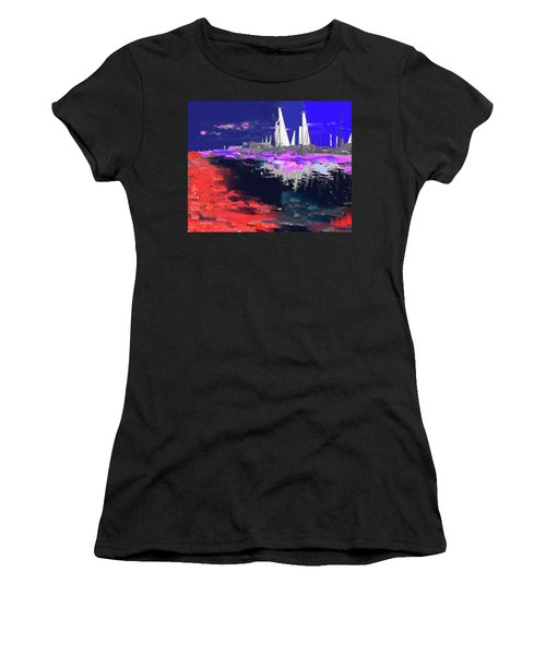 Abstract  Images Of Urban Landscape Series #14 Women's T-Shirt