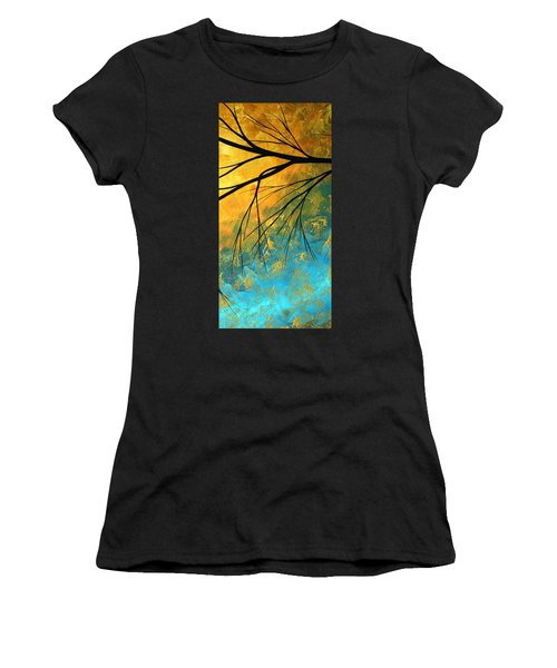 Abstract Landscape Art Passing Beauty 2 Of 5 Women's T-Shirt (Athletic Fit)