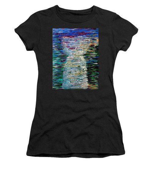 Abstract Latte Stone Women's T-Shirt
