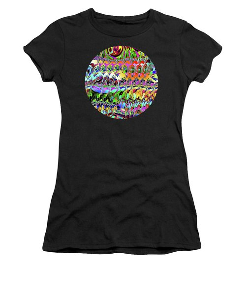 Abstract Layers Of Color Women's T-Shirt