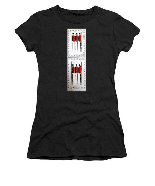 Abstract Masai Warriors Women's T-Shirt