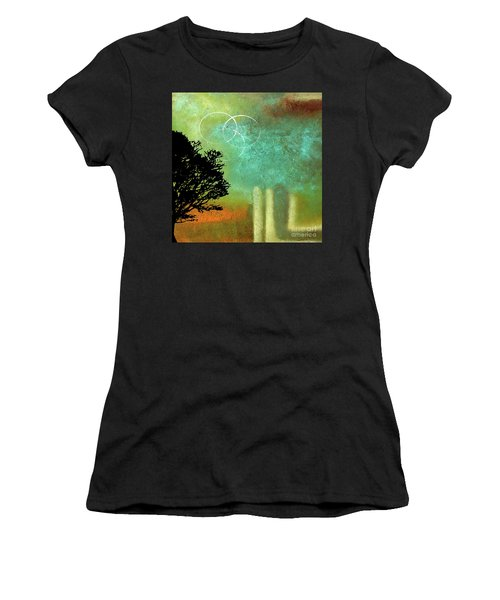 Abstract Modern Art Eternity Women's T-Shirt (Athletic Fit)
