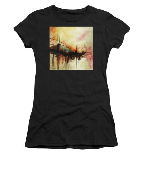 Abstract Painting Contemporary Art Women's T-Shirt