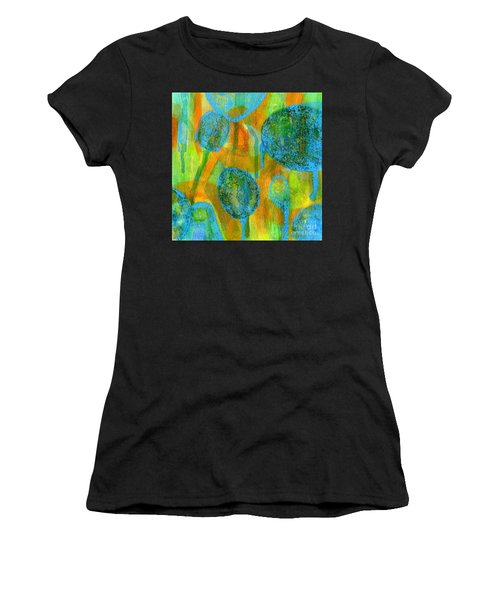 Women's T-Shirt featuring the painting Abstract Painting No. 1 by David Gordon