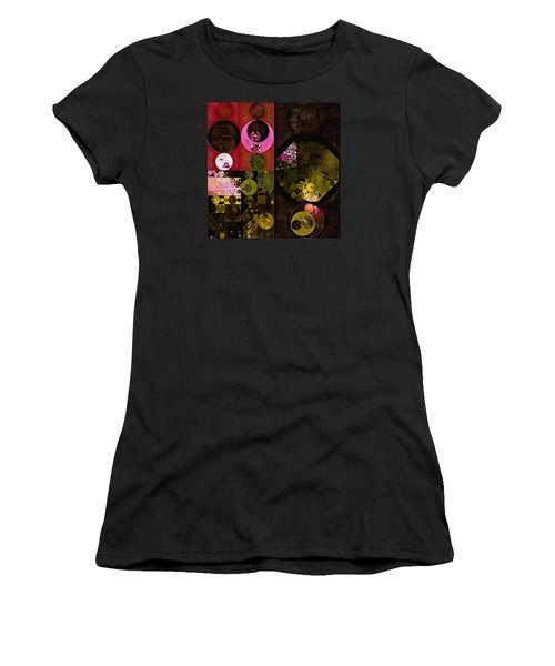 Abstract Painting - Tonys Pink Women's T-Shirt (Athletic Fit)