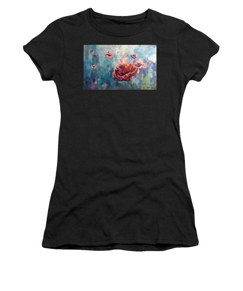 Abstract Poppy Women's T-Shirt