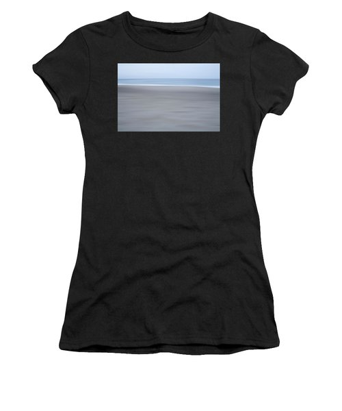 Abstract Seascape No. 10 Women's T-Shirt (Athletic Fit)