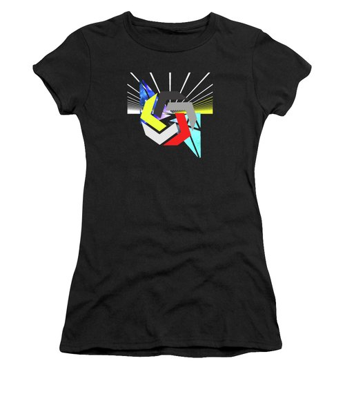 Abstract Space 6 Women's T-Shirt (Athletic Fit)