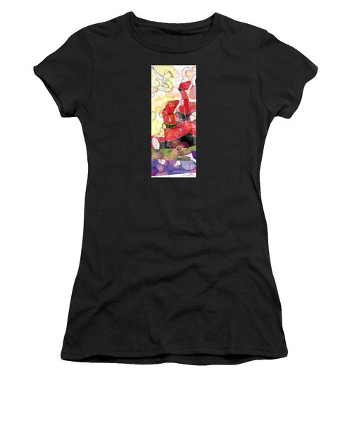Abstract Submarine Women's T-Shirt (Athletic Fit)