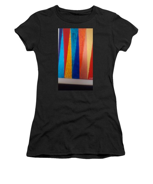 Abstract Triangles  Women's T-Shirt