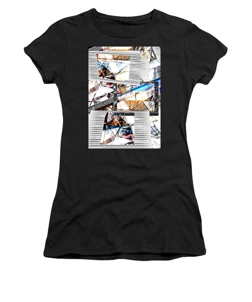 Abstract Triptych Women's T-Shirt