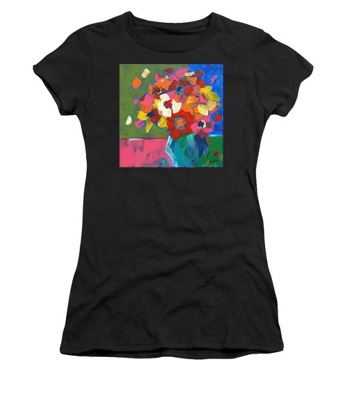 Abstract Vase Women's T-Shirt (Athletic Fit)