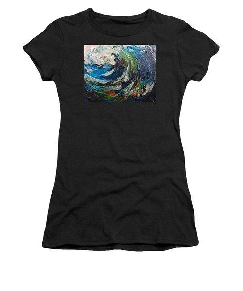 Abstract Wild Wave  Women's T-Shirt