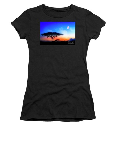 Acacia Sunset Women's T-Shirt