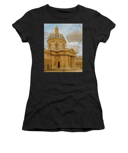 Paris, France - Academie Francaise Women's T-Shirt
