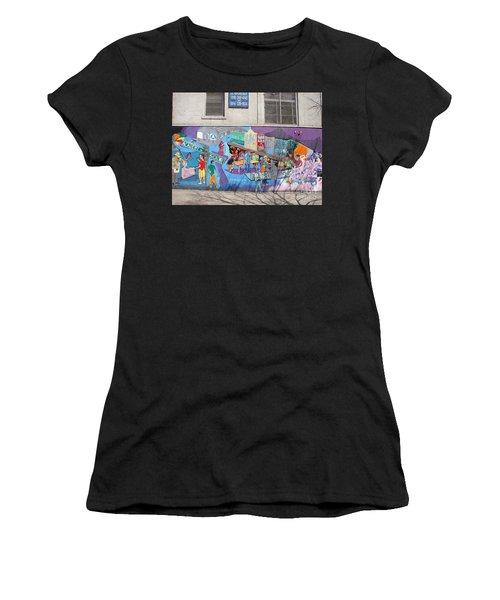 Academy Street Mural Women's T-Shirt