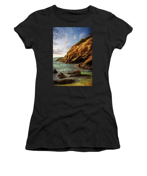 Acadia National Park--maine Women's T-Shirt (Athletic Fit)
