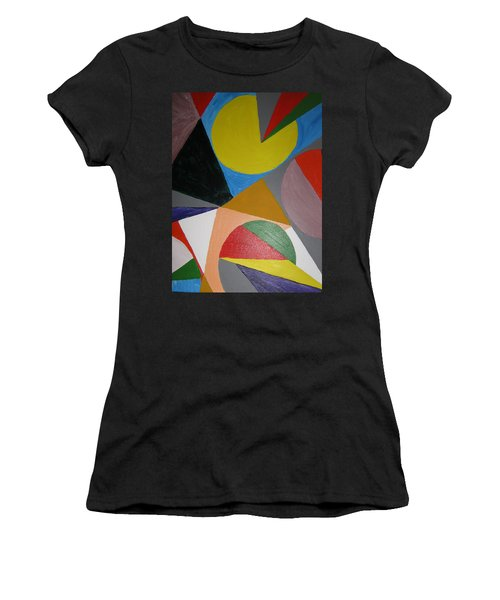 Accidental Pacman Women's T-Shirt (Athletic Fit)