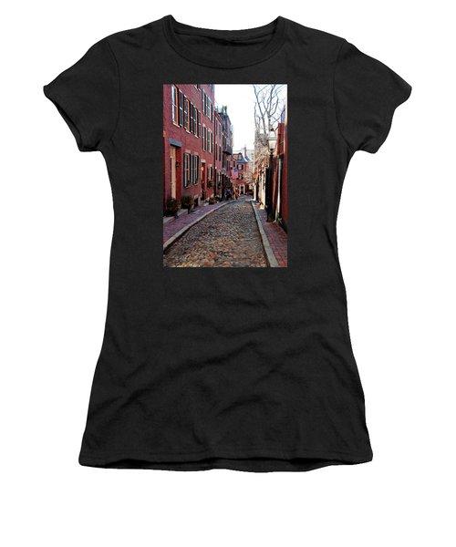 Acorn Street Beacon Hill Women's T-Shirt