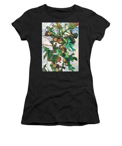 Acorns On An Oak  Women's T-Shirt