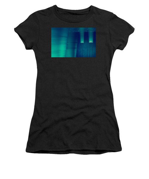 Acoustic Wall Women's T-Shirt (Athletic Fit)