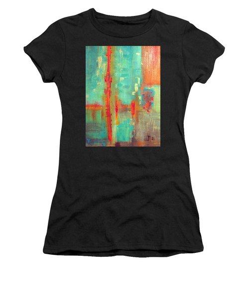 Across The Park Women's T-Shirt (Athletic Fit)