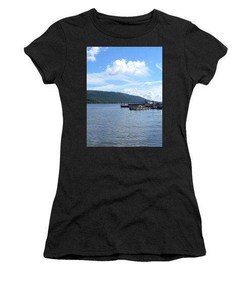 Across The Water Women's T-Shirt (Athletic Fit)