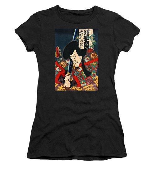 Actor Aku Hichibei 1863 Women's T-Shirt (Athletic Fit)
