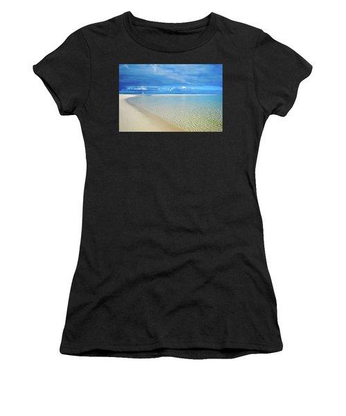 Adagio Alone In Ouvea, South Pacific Women's T-Shirt