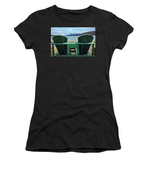Adirondack Chair For Two Women's T-Shirt