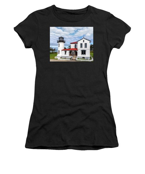 Admiralty Head Lighthouse Women's T-Shirt