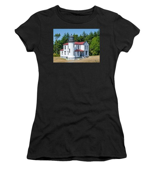 Admiralty Head Lighthouse  Women's T-Shirt (Athletic Fit)