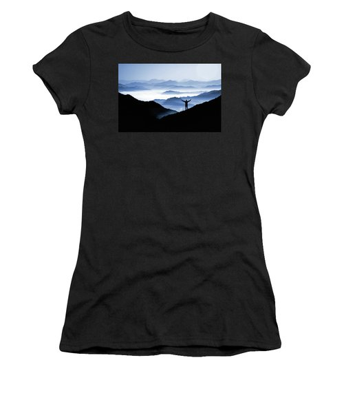 Adoration Of Natural Beauty Women's T-Shirt (Athletic Fit)
