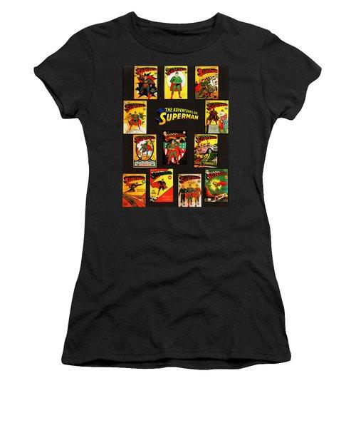 Adventures Of Superman Women's T-Shirt